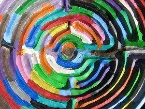 Labyrynthe de couleurs