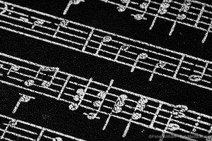 Notes de musique tableau