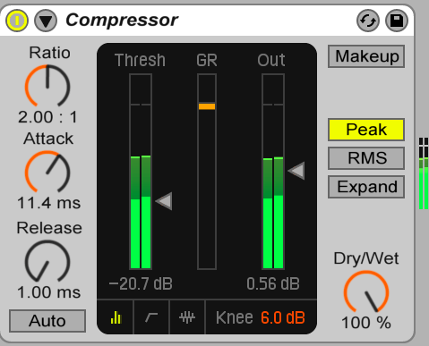 Image mixage audio: compression master