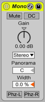 Image mixage audio: utilitaire mono stereo