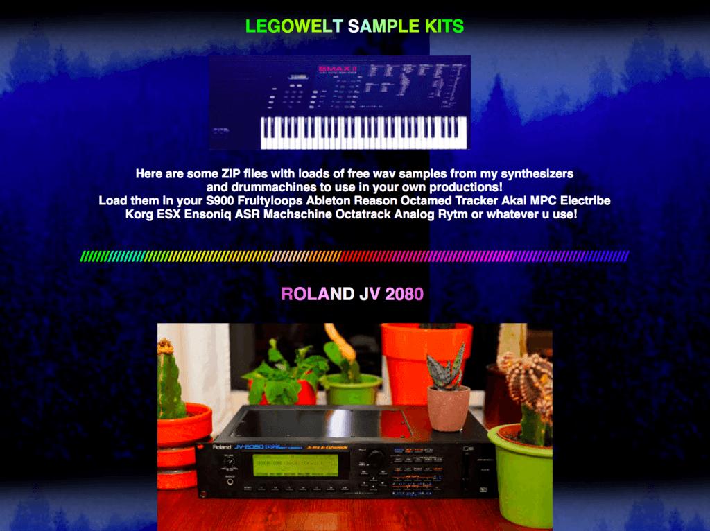 Legowelt image