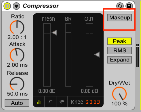 compression audio: image piège du makeup