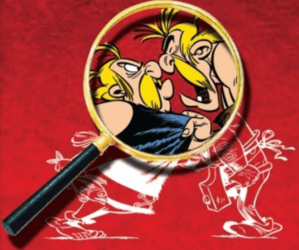 Image dispute entre Ordralfabétix et Cétautomatix d'Astérix