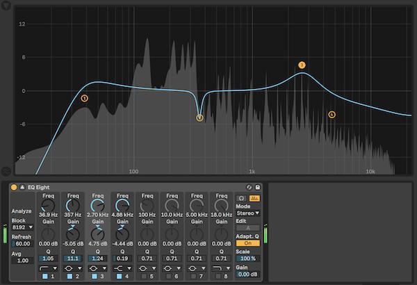 Image équaliseur: 15+1 façons d'améliorer la clarté de tes mixages avec un EQ